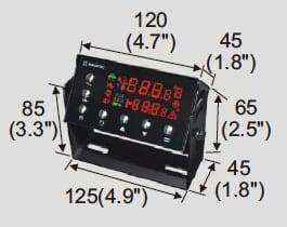 KINGTEC K598D Control Panel