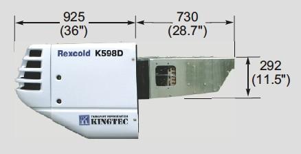 K598DE Diesel Side View