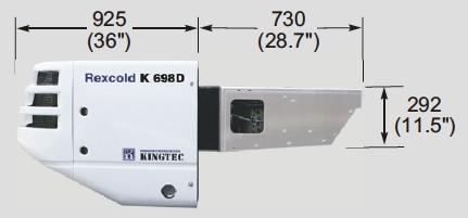 K698DE Diesel Side View