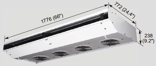 EVK1600 evaporator