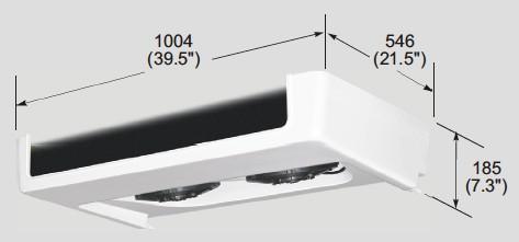 EVK350C evaporator