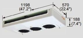 EVK400 evaporator