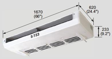 EVK700 evaporator