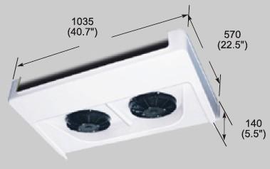 EVK200C evaporator
