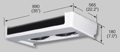 EVK300C evaporator