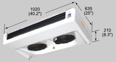 EVK350 evaporator